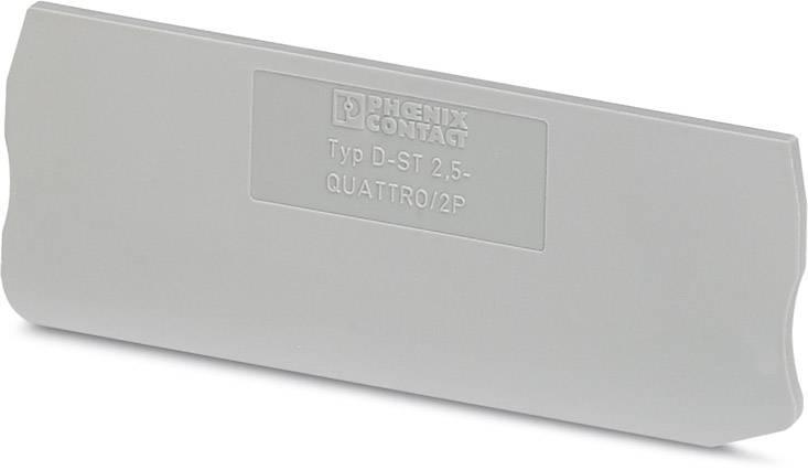 End cover D-ST 2,5-QUATTRO/ 2P Phoenix Contact 50 ks