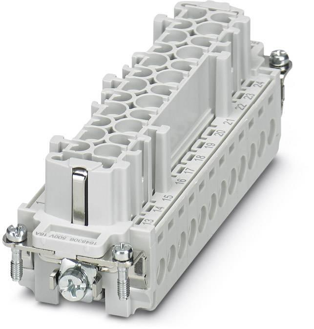 Konektorová vložka, zásuvka Phoenix Contact 1648306, 24, šroubovací, 1 ks