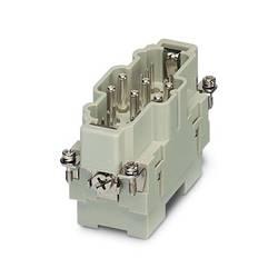Zástrčková vložka HC-K Phoenix Contact HC-K 6/12-ESTS 1636350, počet kontaktov 6 + 12 + PE, skrutkovací, 1 ks