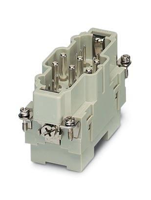 Zástrčková vložka Phoenix Contact 1636350, 6 + 12 + PE, šroubovací, axiální šroubové připojení, 1 ks