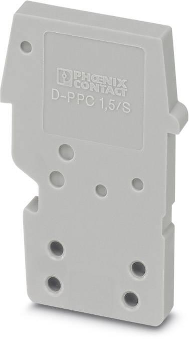 End cover D-PPC 1,5/S Phoenix Contact 50 ks