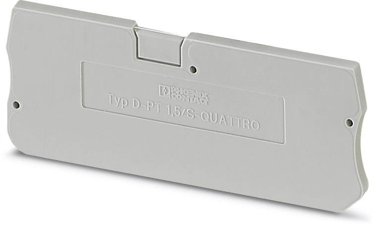 End cover D-PT 1,5/S-QUATTRO Phoenix Contact 50 ks