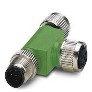 Rozdělovač a adaptér pro senzory - aktory Phoenix Contact SAC-5P-M12T/2XM12 VP 1541186, 1 ks