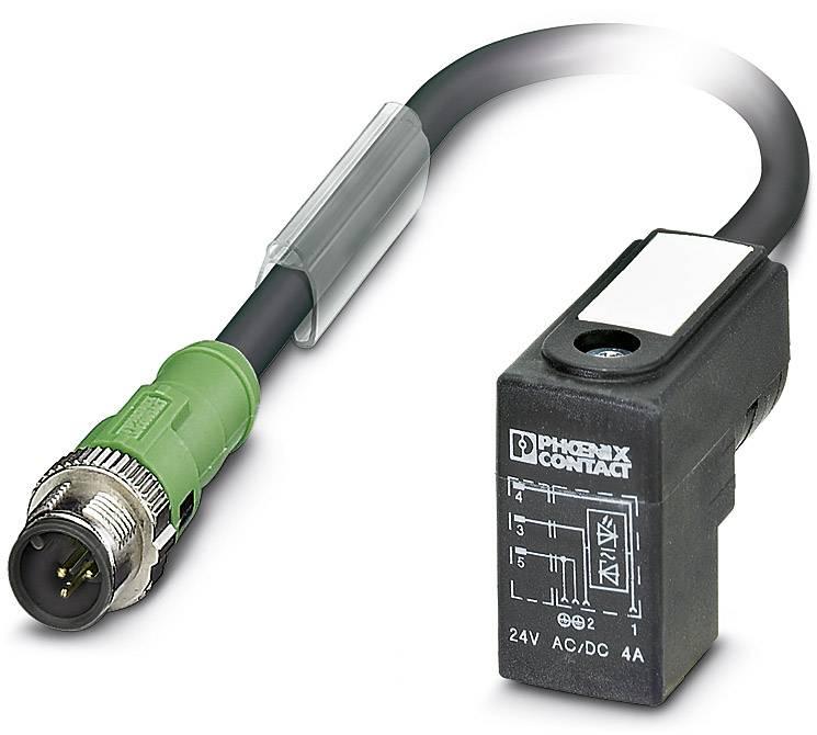 Sensor/Actuator cable SAC-3P-M12MS/1,5-PUR/C-1L-Z Phoenix Contact 1400786 SAC-3P-M12MS/1,5-PUR/C-1L-Z, 1 ks
