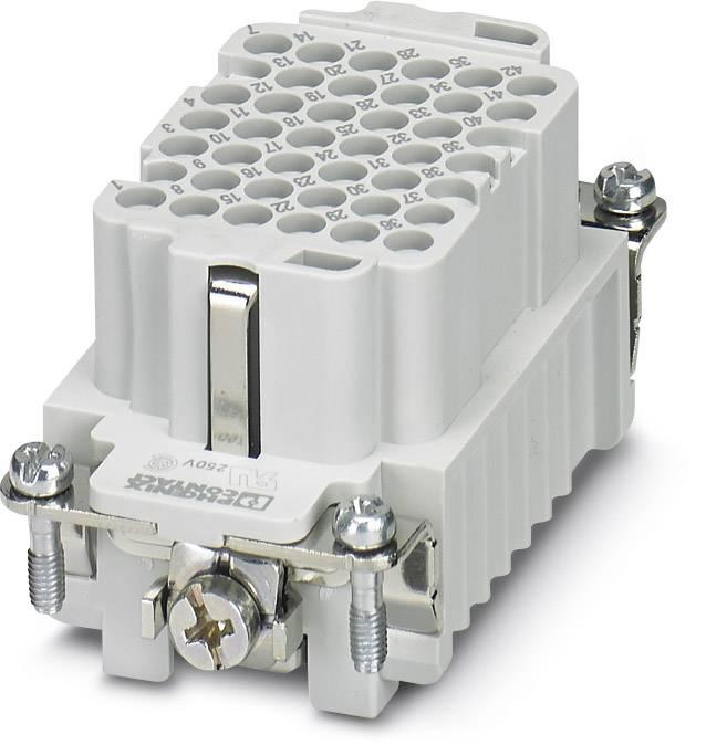 Konektorová vložka, zásuvka Phoenix Contact 1584062, 42 + PE, krimpované, 1 ks