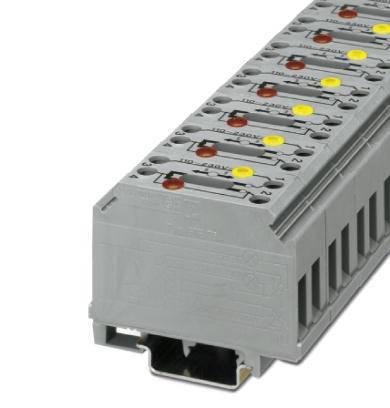 Oddělovací svorka Phoenix Contact GTF 76/230 3121012, 10 ks, šedá