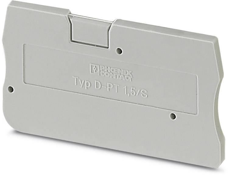 End cover D-PT 1,5/S Phoenix Contact 50 ks