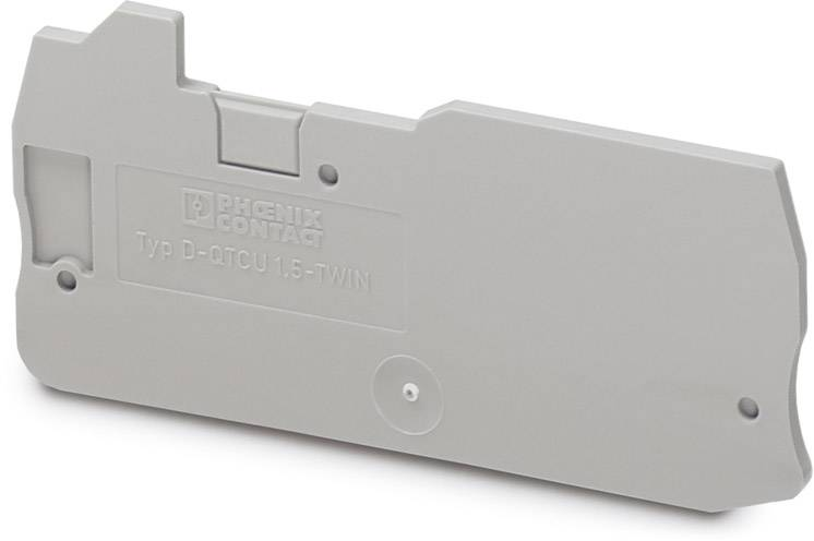 End cover D-QTCU 1,5-TWIN Phoenix Contact 50 ks