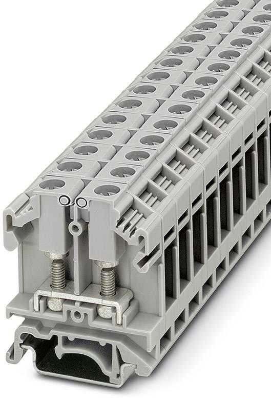 Svorka pro šroubový spoj Phoenix Contact OTTA 6-P/P 0790404, 50 ks, šedá