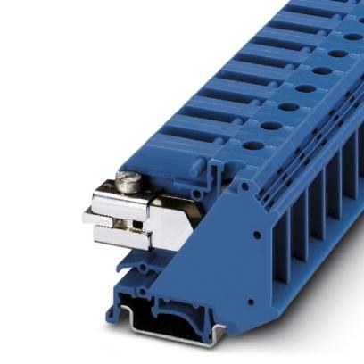 Oddělovací svorka Phoenix Contact UTN 35 3245066, 50 ks, modrá