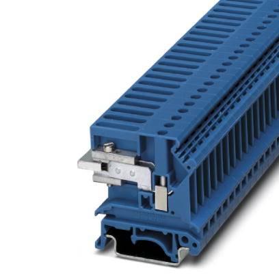 Oddělovací svorka Phoenix Contact UKN 10 BU 3032091, 50 ks, modrá