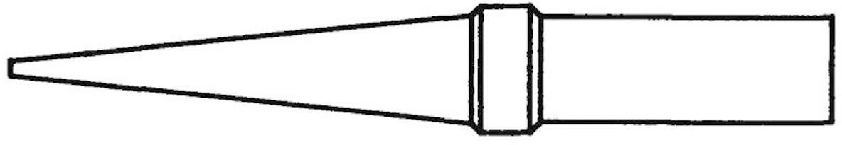 Spájkovací hrot predĺžený, kónická Weller Professional 4ETO-1, velikost hrotu 0.8 mm, 1 ks