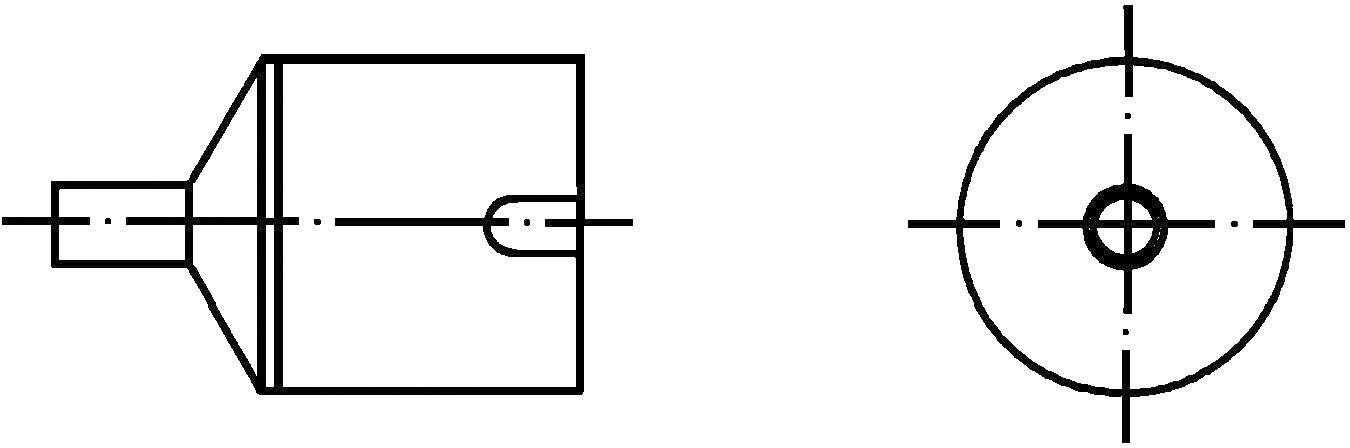Horkovzdušná tryska Weller NR05, 4 mm