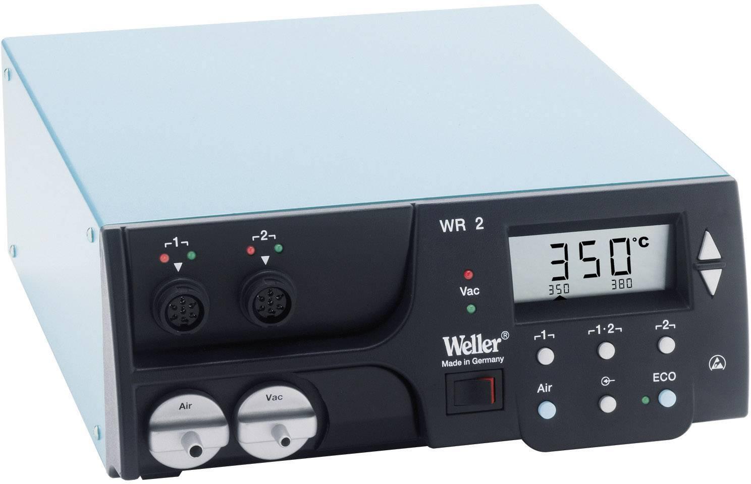 Spájkovacia/odpájkovacia stanica Weller WR 2 T0053377699, 230 V/50 Hz, 2 kanály