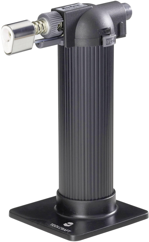Plynový hořák TOOLCRAFT MT-770S, 1300 °C, 65 min + piezozapalovač