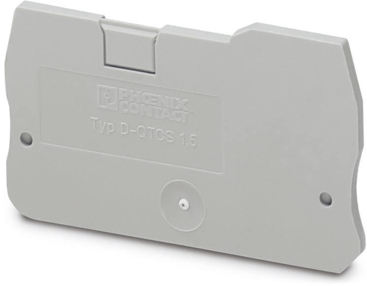 End cover D-QTCS 1,5 Phoenix Contact 50 ks