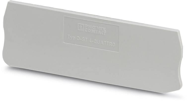 End cover D-ST 1,5/S-QUATTRO Phoenix Contact 50 ks