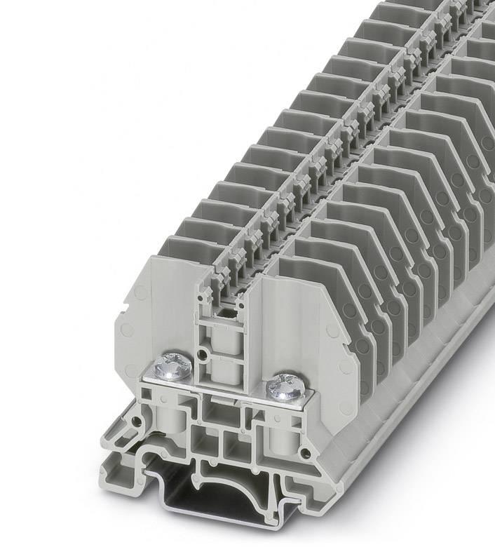 Svorka pro šroubový spoj Phoenix Contact RSC 4 3058127, 50 ks, šedá