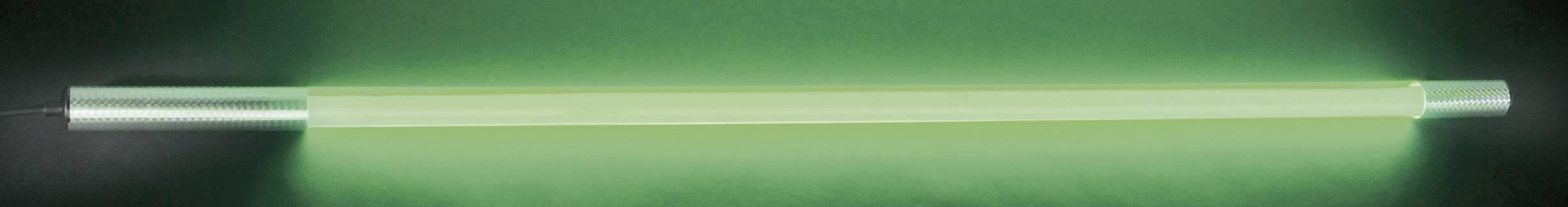 Svietiaca LED tyč Eurolite, 134 cm, zelená