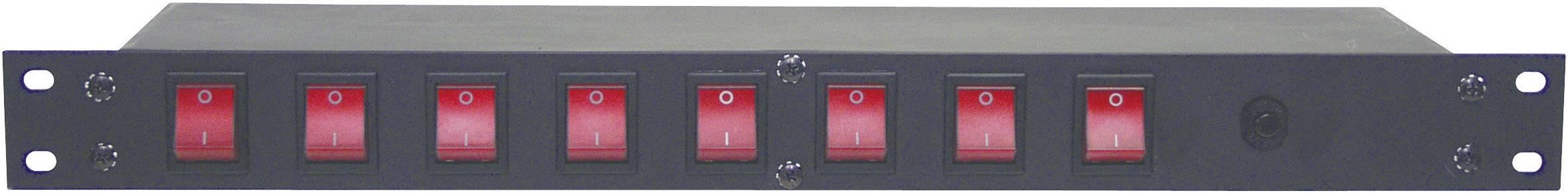 "Panel racku 48,3 cm (19"") Eurolite Board 8 , IEC zásuvka"