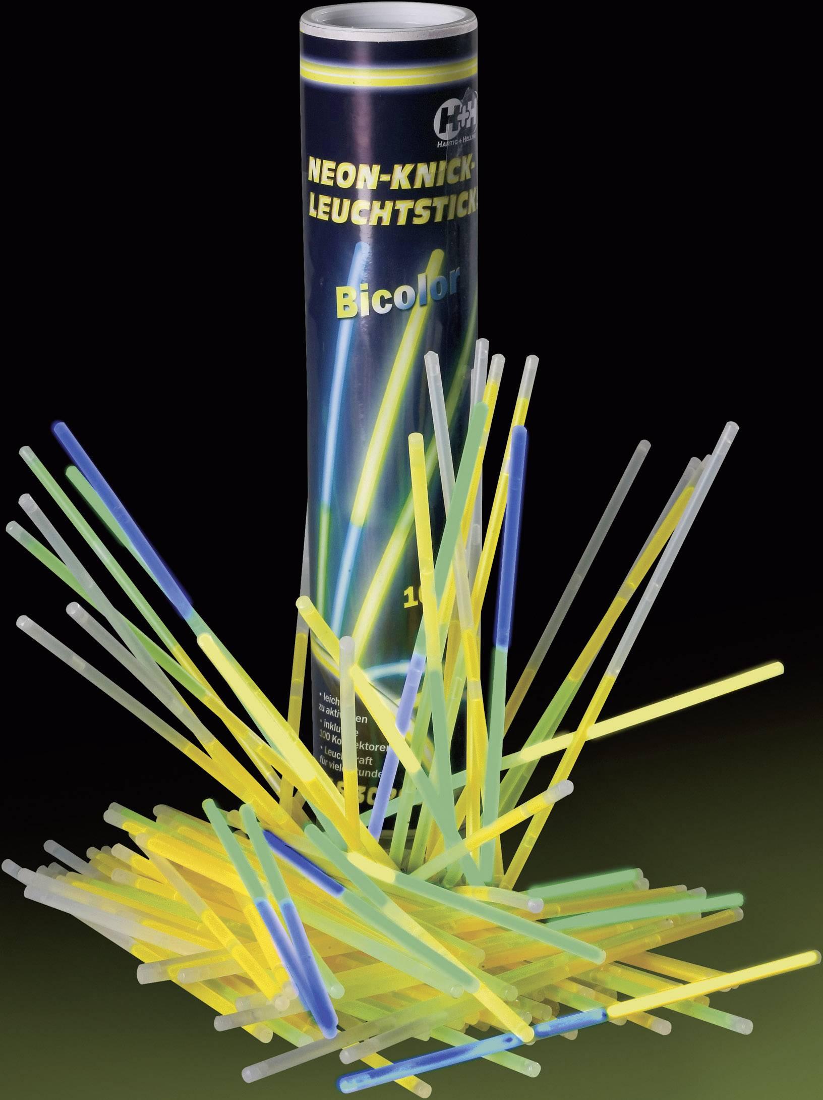 Neónové svetelné paličky, 100 ks