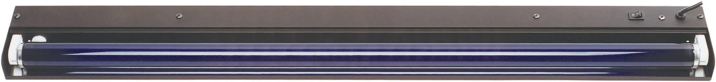 UV svietidlo so žiarivkou, sada 45cm metall 51101505, 45 cm, 15 W, čierna