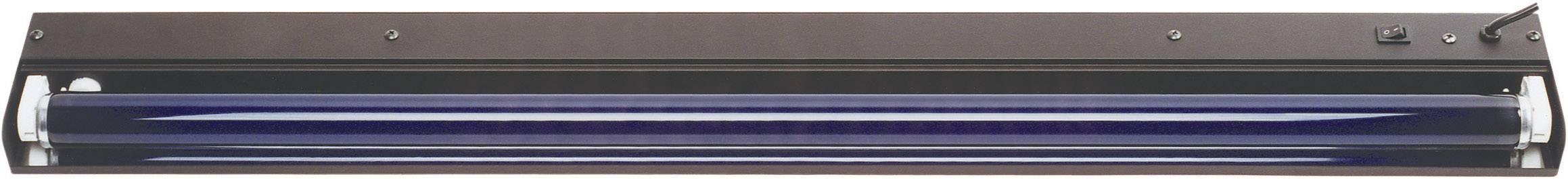 UV svietidlo so žiarivkou, sada 60cm metall 51101510, 60 cm, 18 W, čierna