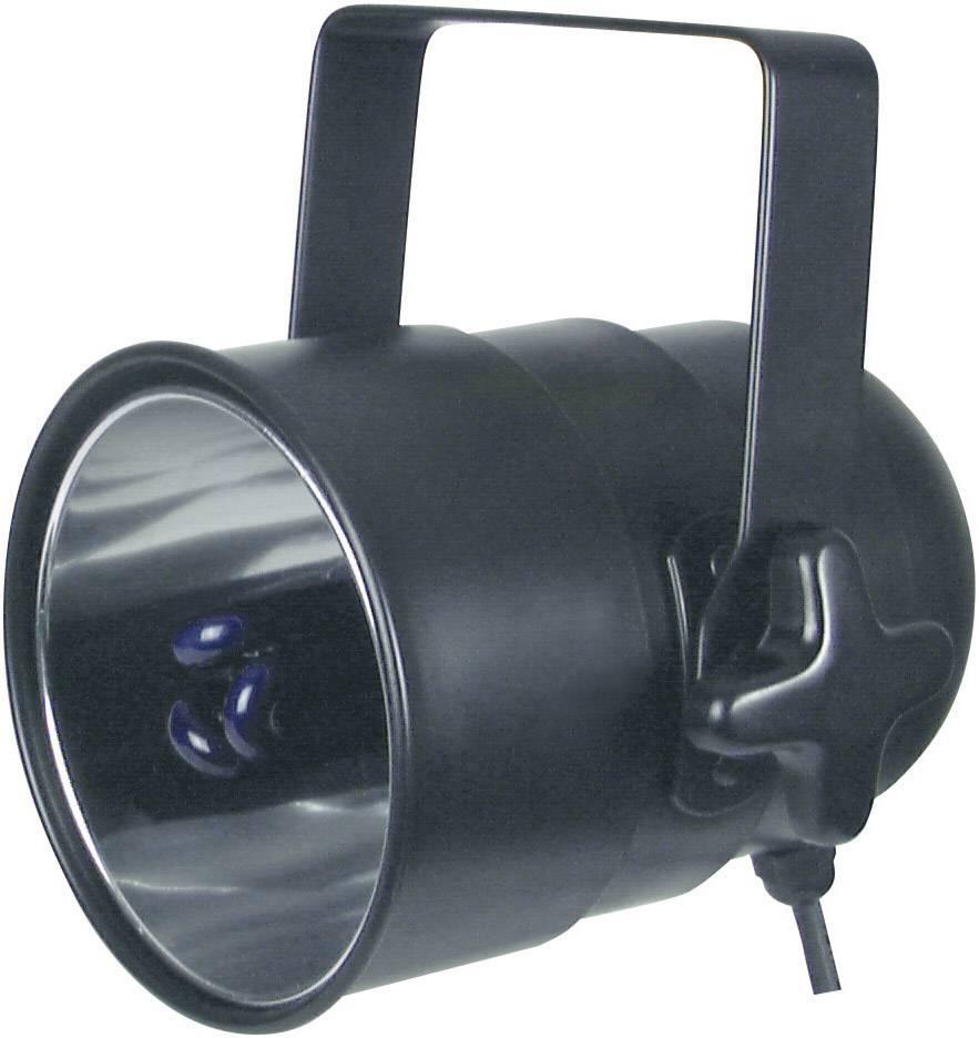 UV PAR reflektor Eurolite UV ES Lampe 51100700, 195 mm, 25 W, čierna