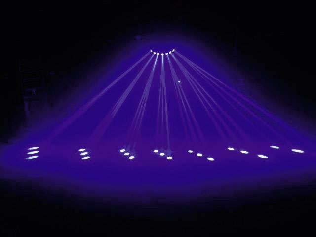 Efektový LED reflektor SCY-7 RGB