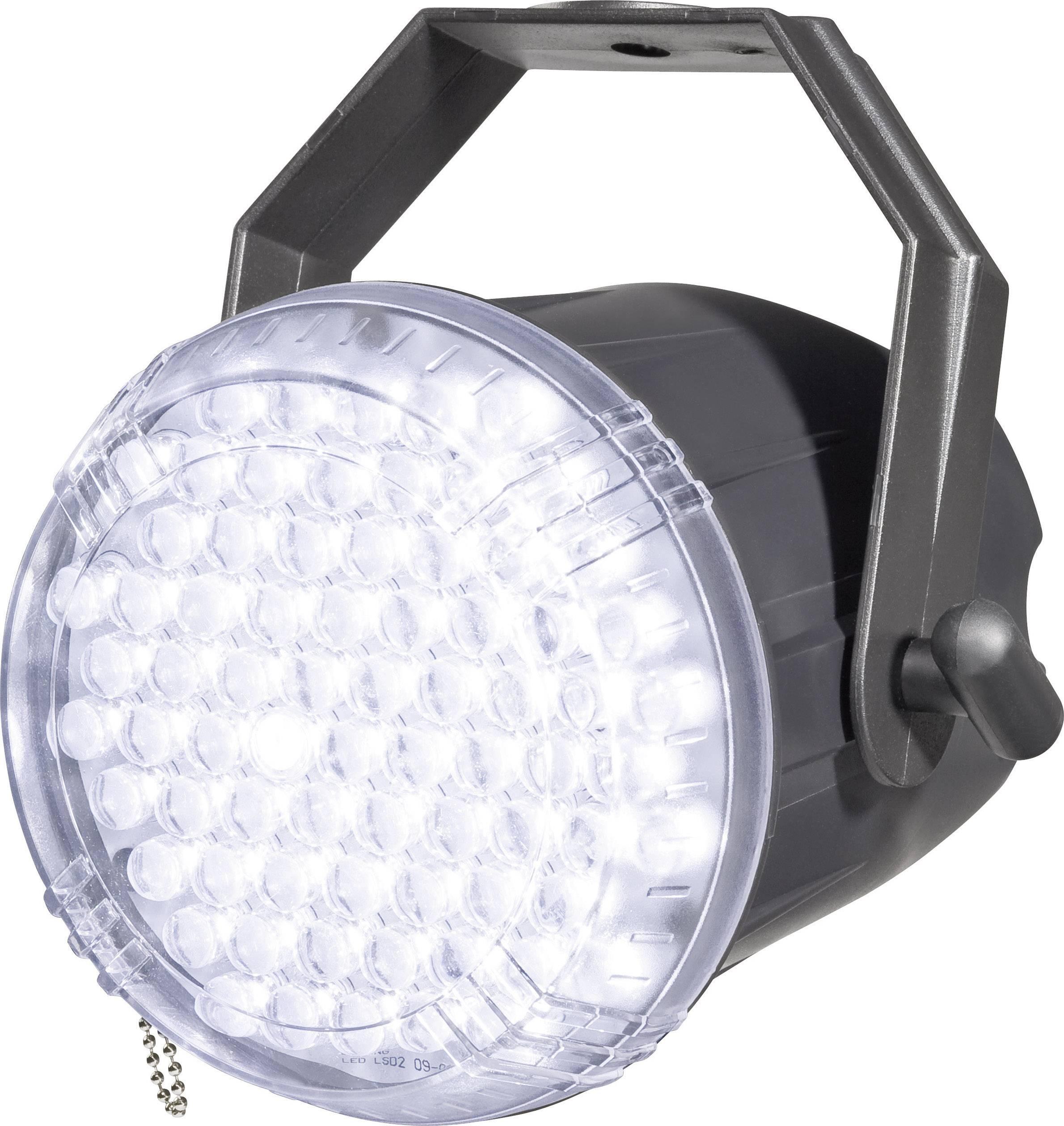 LEDstroboskop LED Techno Strobe 250 EC 52200828, počet LED:62, biela