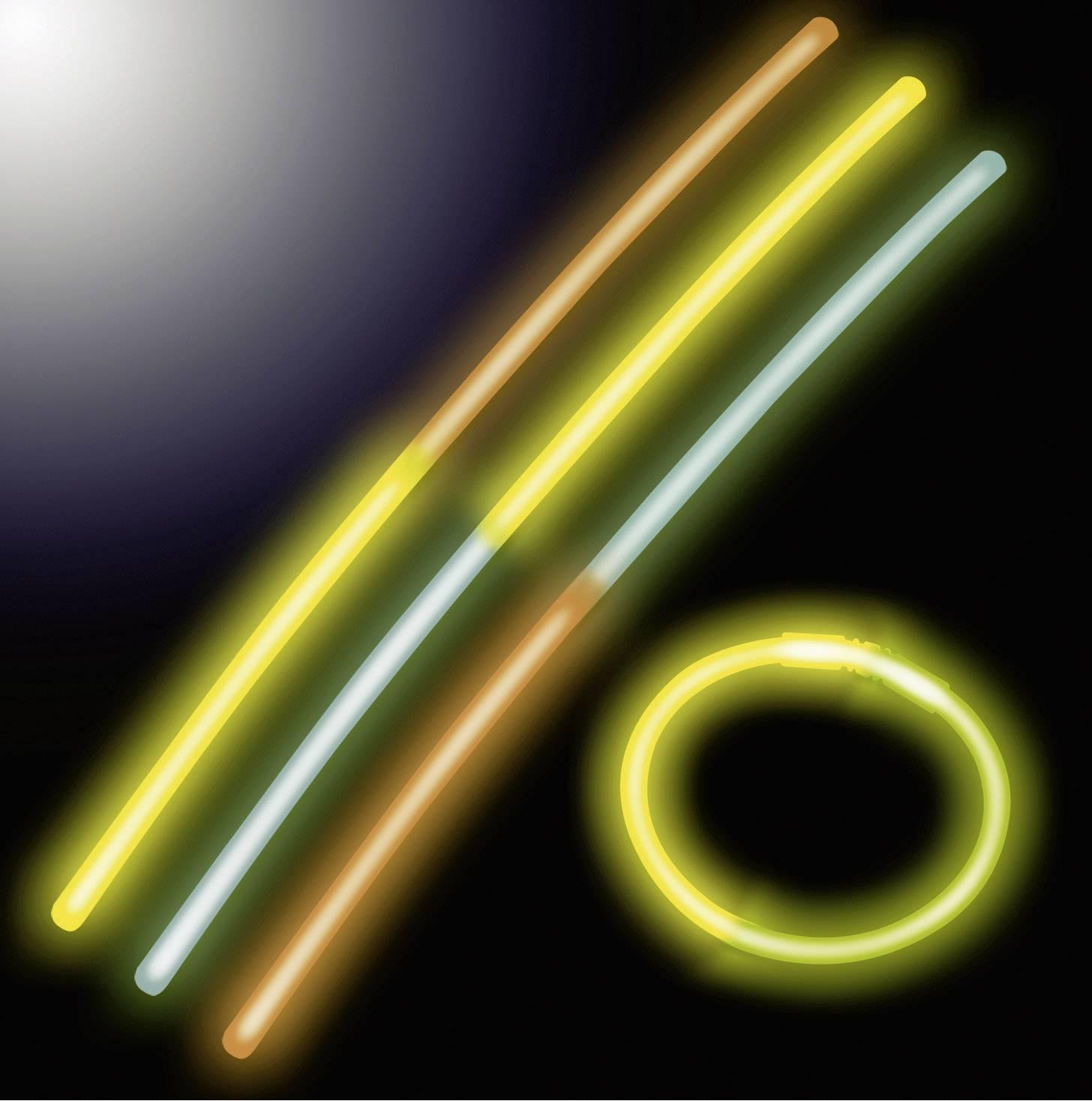 Svítící tyčinky Neon Knick, multicolor, 25 ks