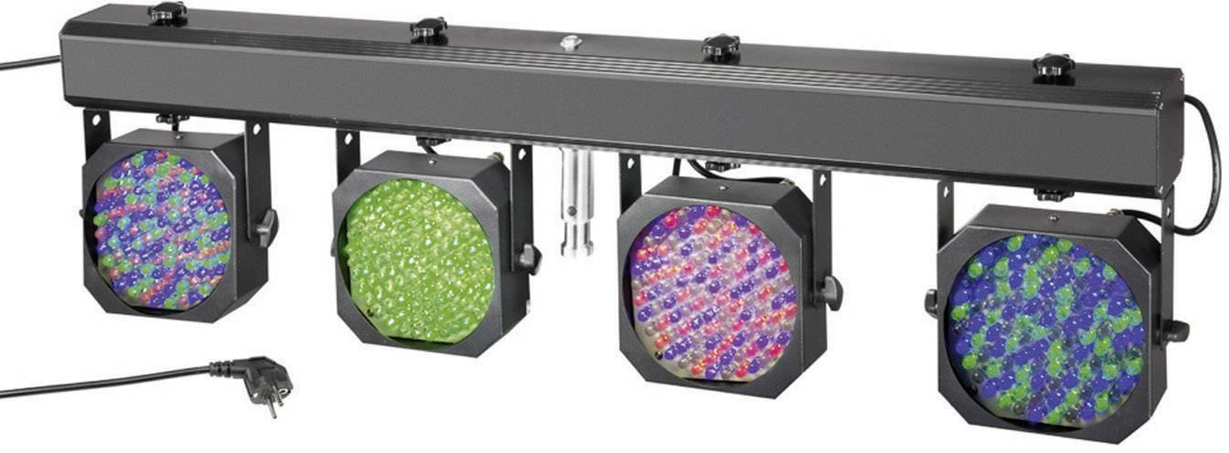 Sada 4 LED reflektorov na lište Cameo MultiPAR, Multicolor