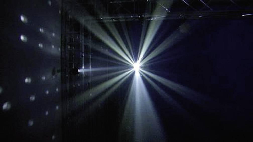 Zrkadlová guľa s LED svetlom, 20 cm