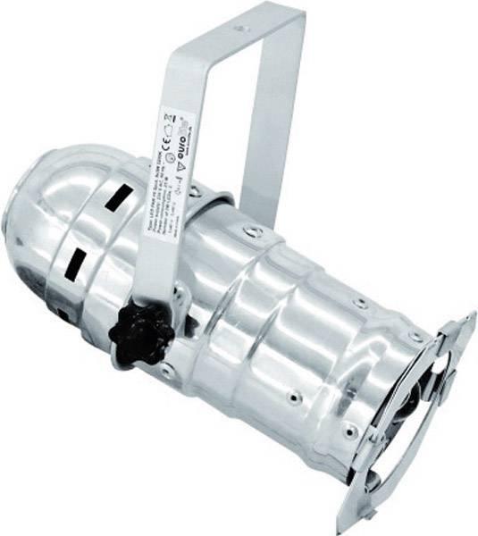 LED reflektor Eurolite PAR 16 Spot, svetlo biele, 3200K, 3x 3 W, čierny