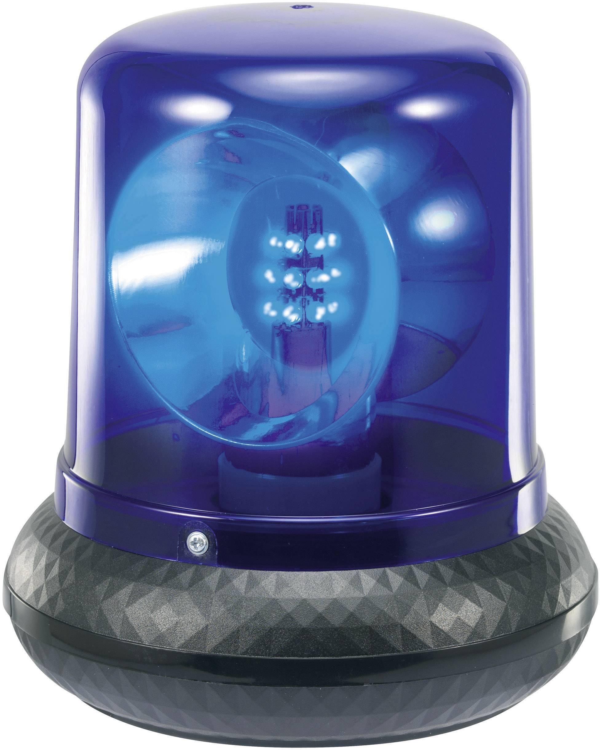 Policajný LED maják, modrý
