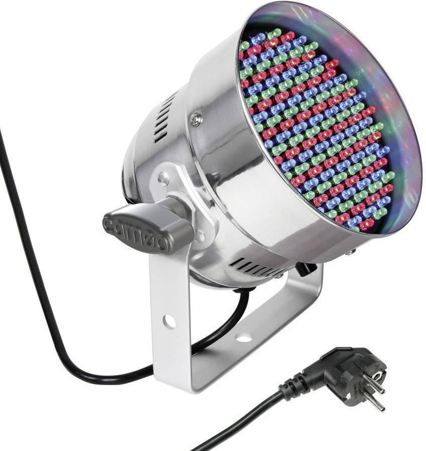 LED reflektor Cameo PAR-56 Multi-Color, 151 LED, strieborný