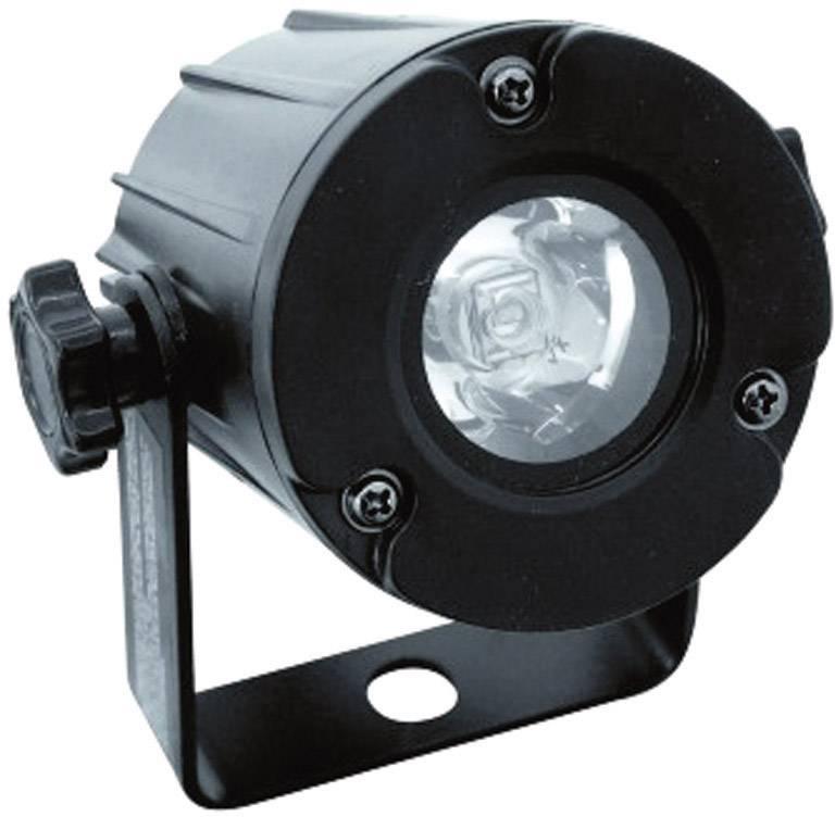 LED reflektor Eurolite PST-3W, svetlo biele, 3 W, čierny