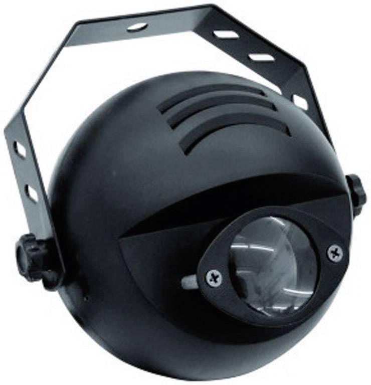 LED DMX reflektor Eurolite PST-9W Spot Multi-Color, 9 W, čierny