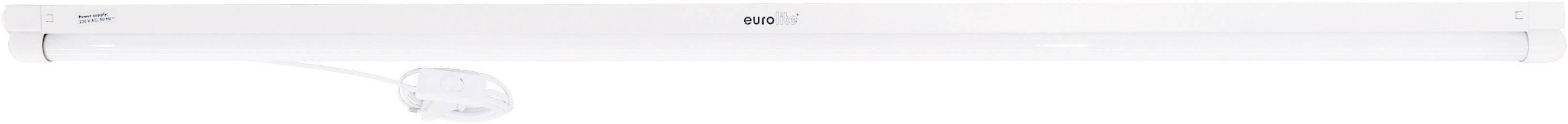Žiarivka so zásuvkou Eurolite Neonröhren-Komplettset, 120 cm, 40 W, biela, 1 ks