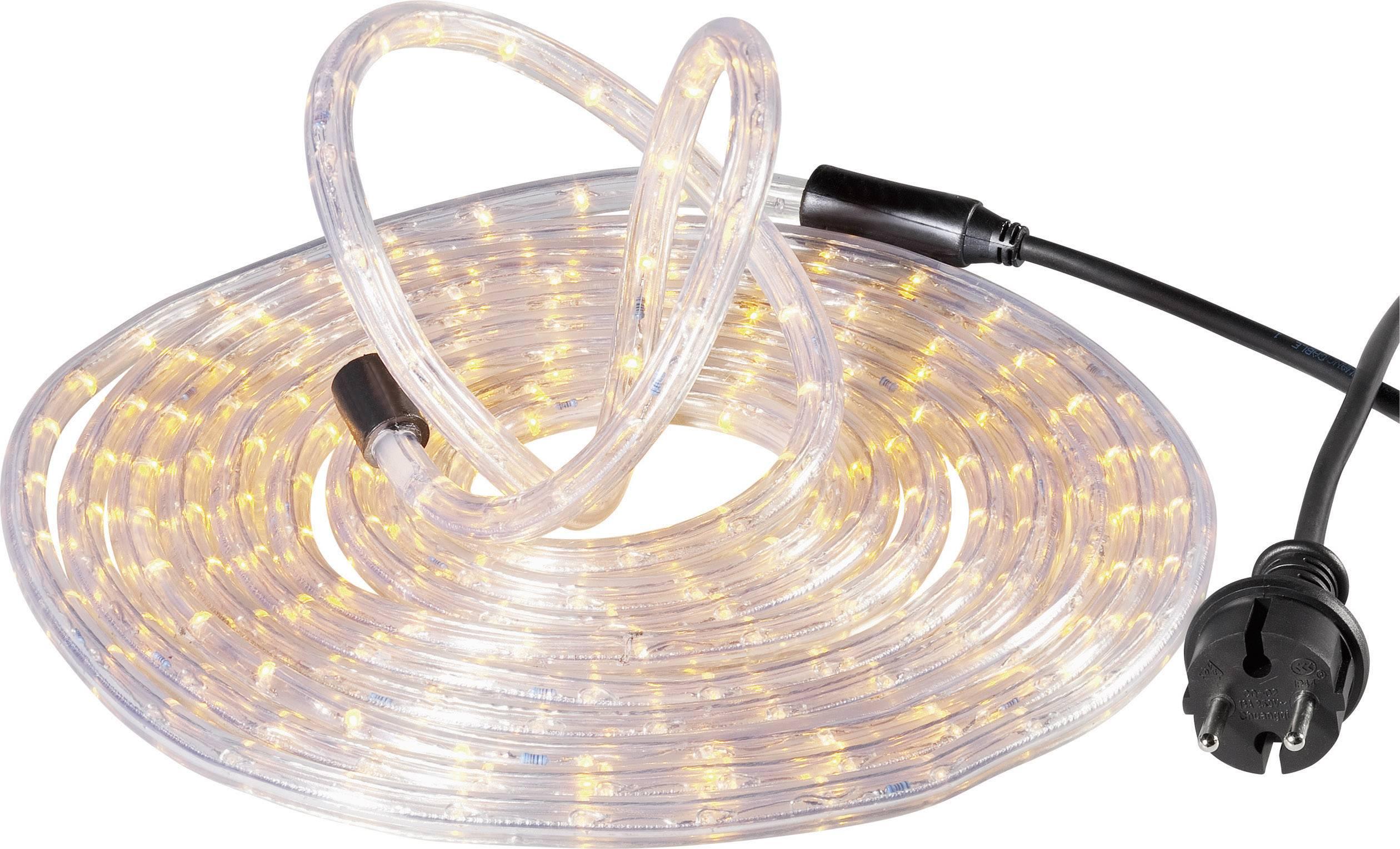 Svetelná hadica s LED GEV, 6 m, žltá