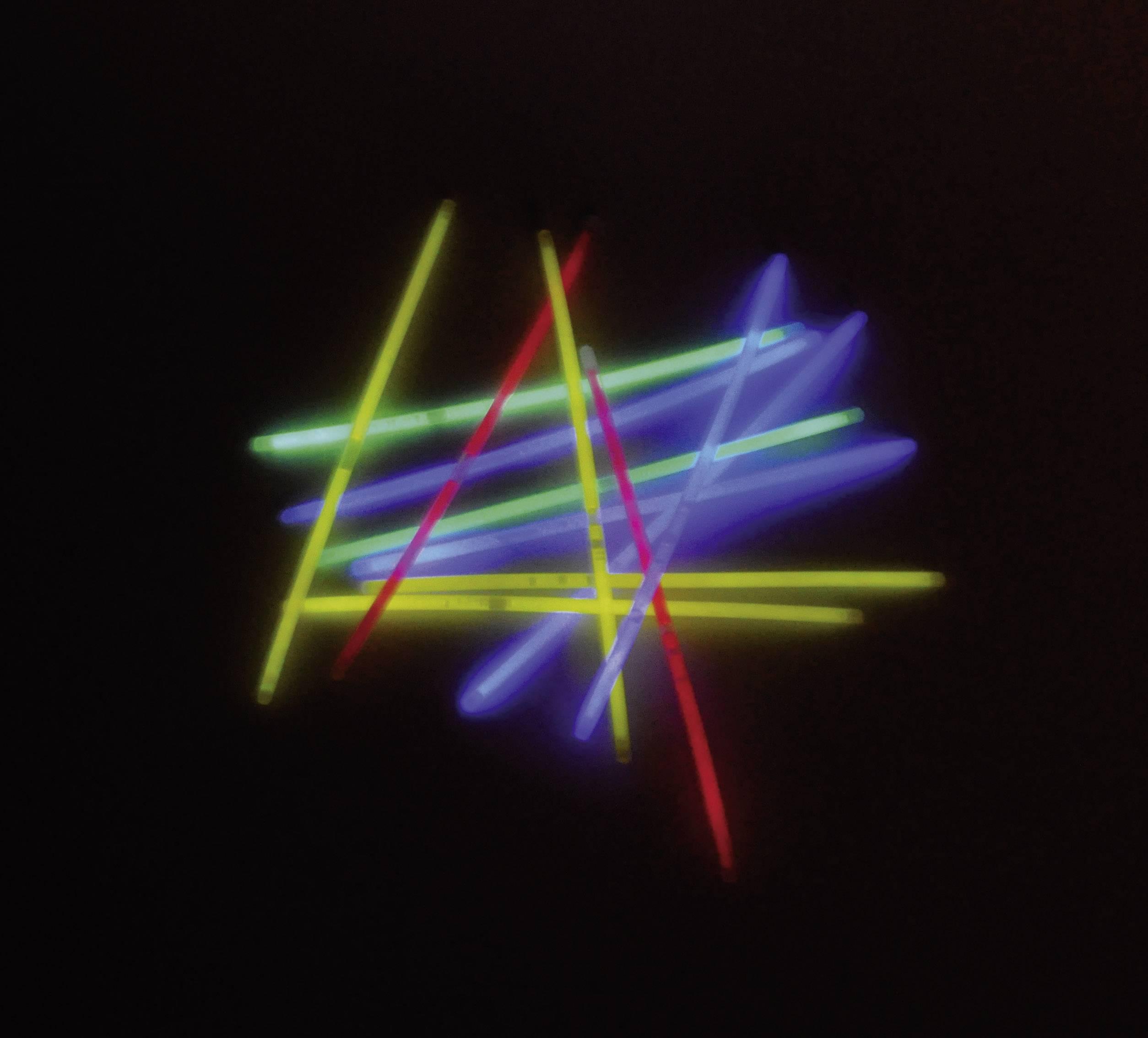 Súprava svietiacich tyčí Snappy 700084, 20 cm, 50-dielna, farebná