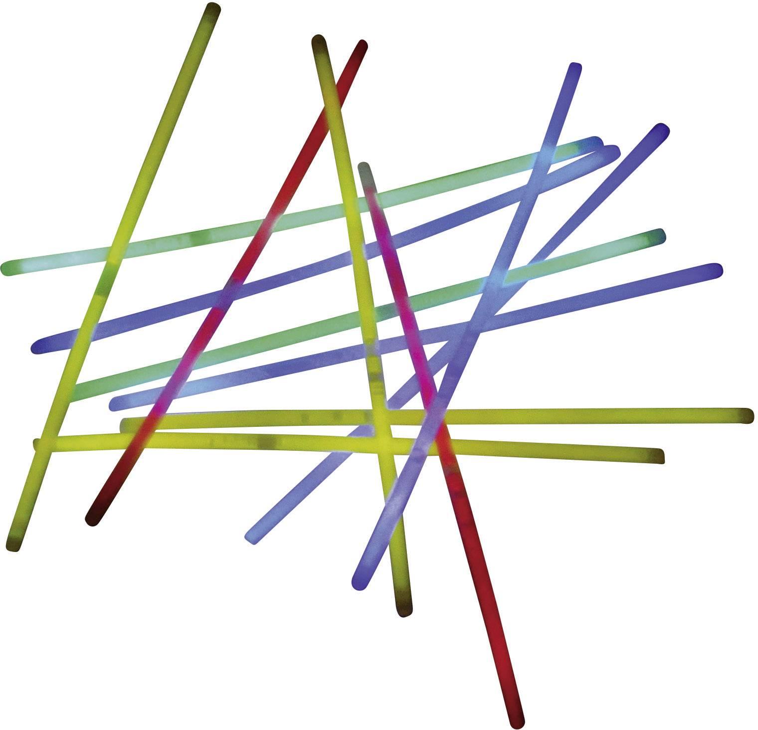 Sada svítících tyčí Snappy 700084, 20 cm, 50dílná, barevná