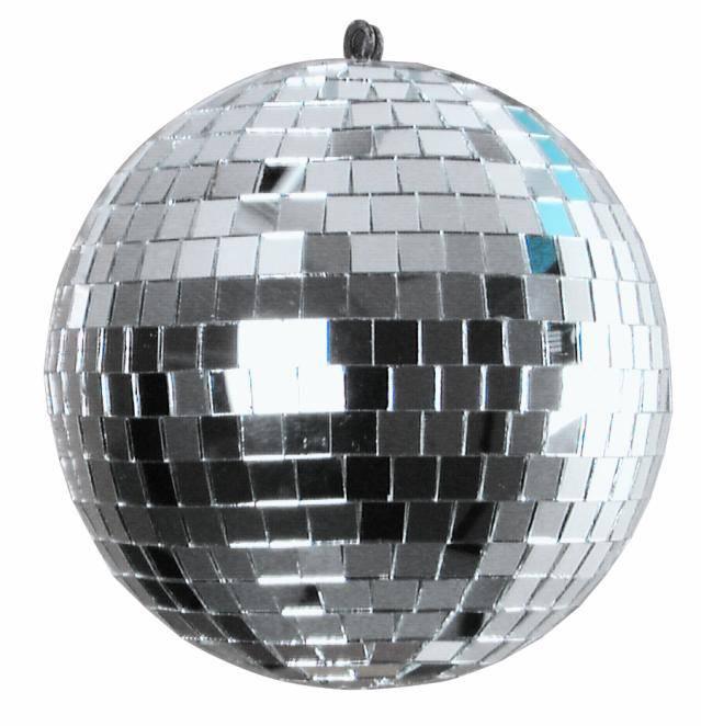 Mini Disco guľa Eurolite 50100210, Vonkajší Ø 15 cm