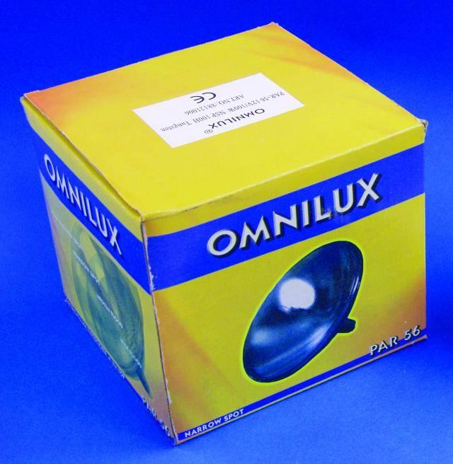 Wolframová žárovka Omnilux PAR -56 NSP, 230V/300W GX16d