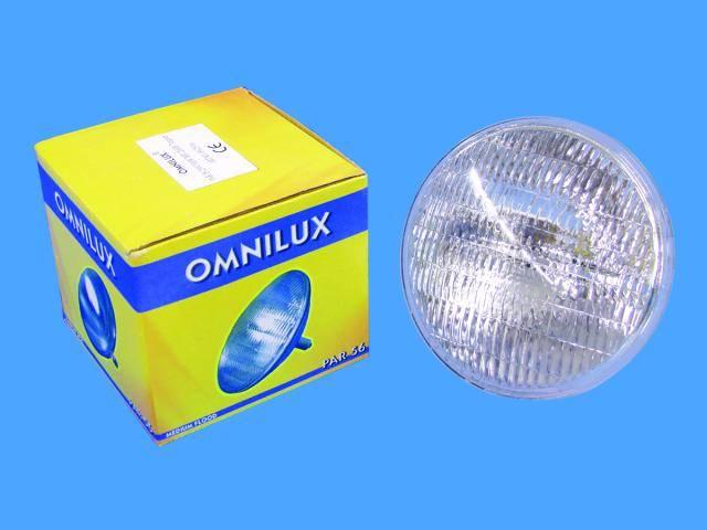 Halogénová efektová žiarovka Omnilux 88125206 230 V, 300 W, biela, 1 ks