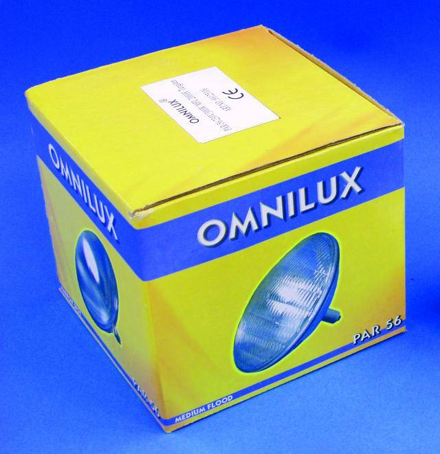 Wolframová žiarovka Omnilux PAR-56 MFL, 230V/300W GX16d, 2000 h