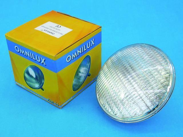 Halogénová žiarovka pod vodu Omnilux PAR-56, 12V/300W, G53, 1000 h