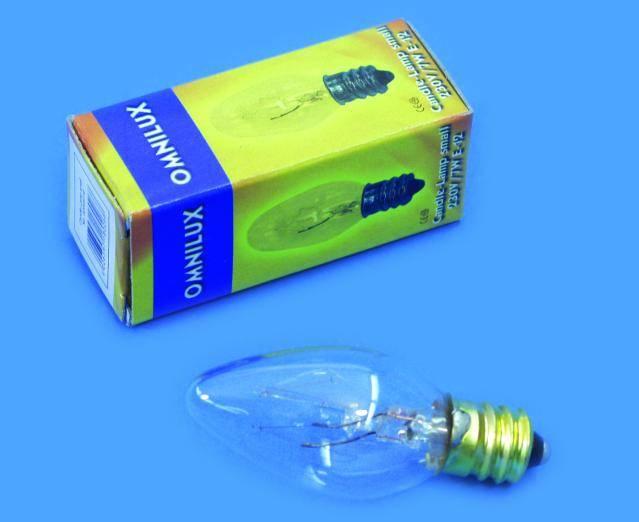Halogénová efektová žiarovka Omnilux 92005116, 230 V, 9 W, biela, 1 ks