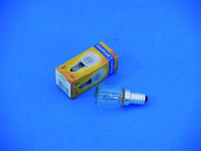 Halogénová efektová žiarovka Omnilux 92004710, 230 V, 10 W, biela, 1 ks