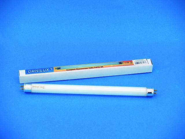 Trubicová žárovka Omnilux T5 211 mm, G5, 230V/6W,